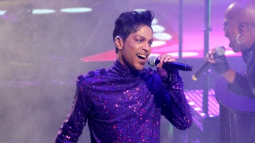 Prince in concert, Welcome To America Tour, Madison Square Garden, New York, America - 18 Jan 2011